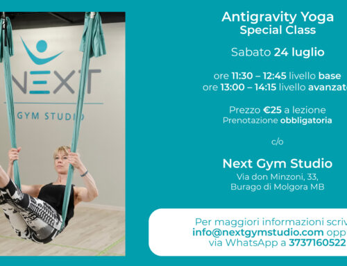 Antigravity Yoga – Special Class